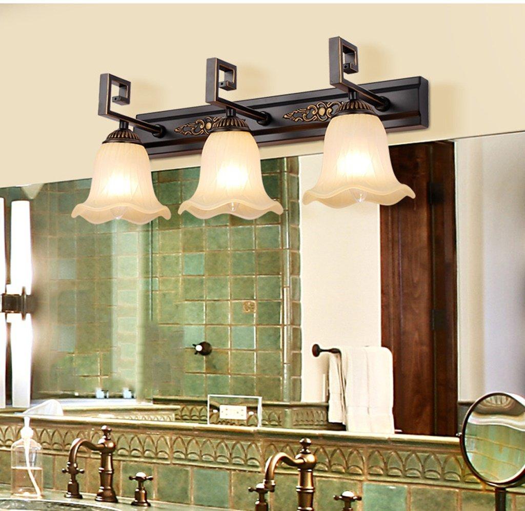 Ali Led Spiegel vorne Licht WC Spiegel Schrank Lampe Kommode Make-up Lichter (Farbe   3 Kopf)