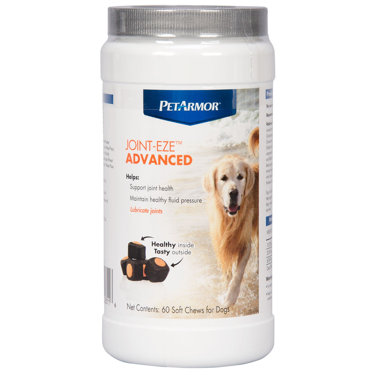PETARMOR Joint-Eze Advanced for Dogs, 60 count by PETARMOR (Image #5)