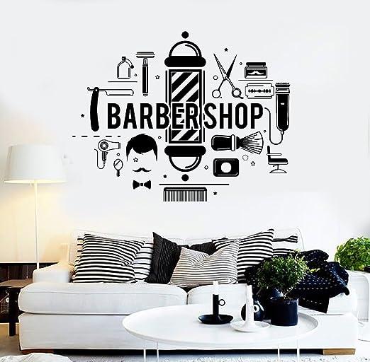 Amazon.com: Melissalove Barbershop SA897 - Adhesivo ...