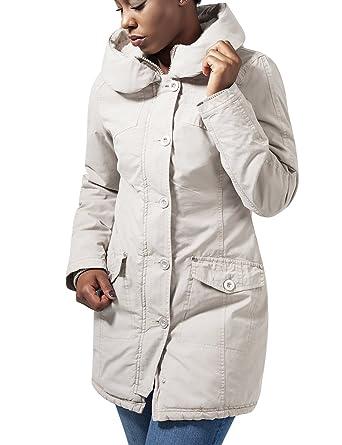 Urban classics Ladies Bubble Coat, Manteau Femme, (Black), 40 (Taille Fabricant: M)
