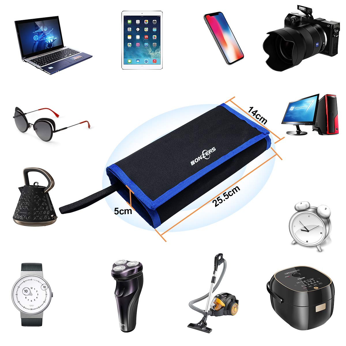 78 en 1 Kit Juego de Destornilladores de Precisi/ón,Destornillador Port/átil mit Magn/éticos Herramientas de Repareci/ón de iPhone,Relojes Electr/óncos,iPad,PC,Macbook,etc.