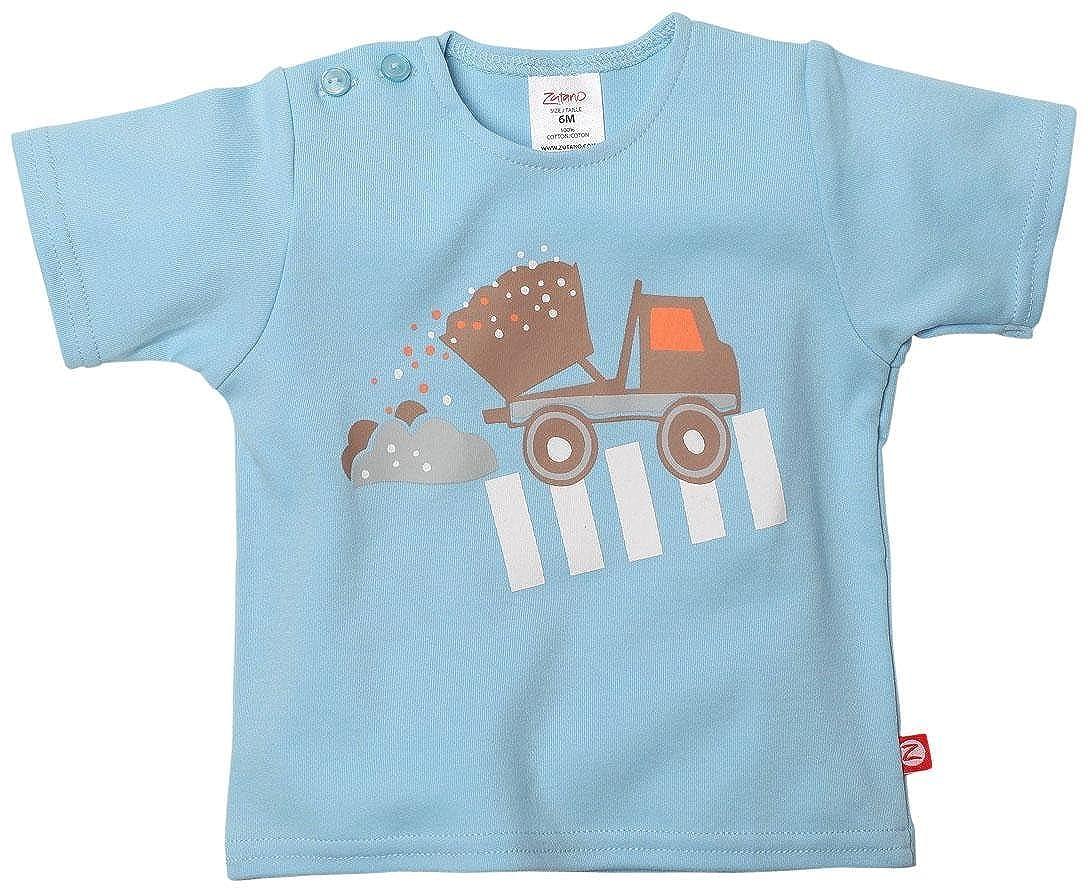 配送員設置 Zutano ROAD Baby Boys Boys ' ' ROAD WORKスクリーンTシャツ(ベビー) – ブルーバード 6 Months ブルー(Bluebird) B00NNXILLQ, ミノリマチ:55164705 --- a0267596.xsph.ru