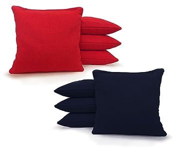 Regulación Cornhole bolsas 17 colores hecho a mano Top ...