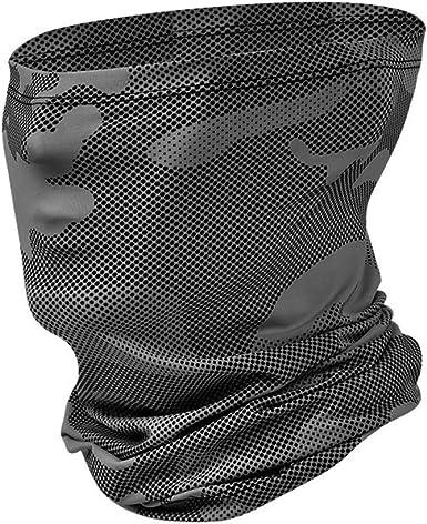 Riou Herren Motorrad Mundschutz Halstuch Multifunktionstuch Schlauchschal Outdoor Winddicht Atmungsakti Gesichtstuch Bekleidung