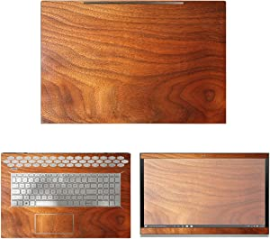 """decalrus - Protective Decal Wood Skin Sticker for HP Envy 17M-BW0013DX (17.3"""" Screen) case Cover wrap HPenvy17m_bw0013dx-155"""