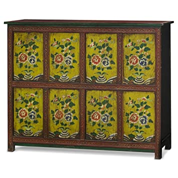Amazon.com: China Furniture Online Elmwood Cabinet, Hand ...