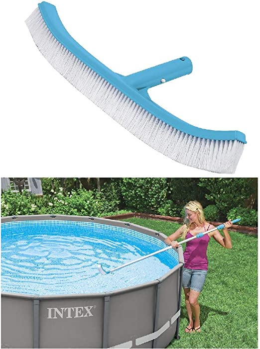 Intex 29052 - Cepillo forma recta para pared de piscina 254 mm ...