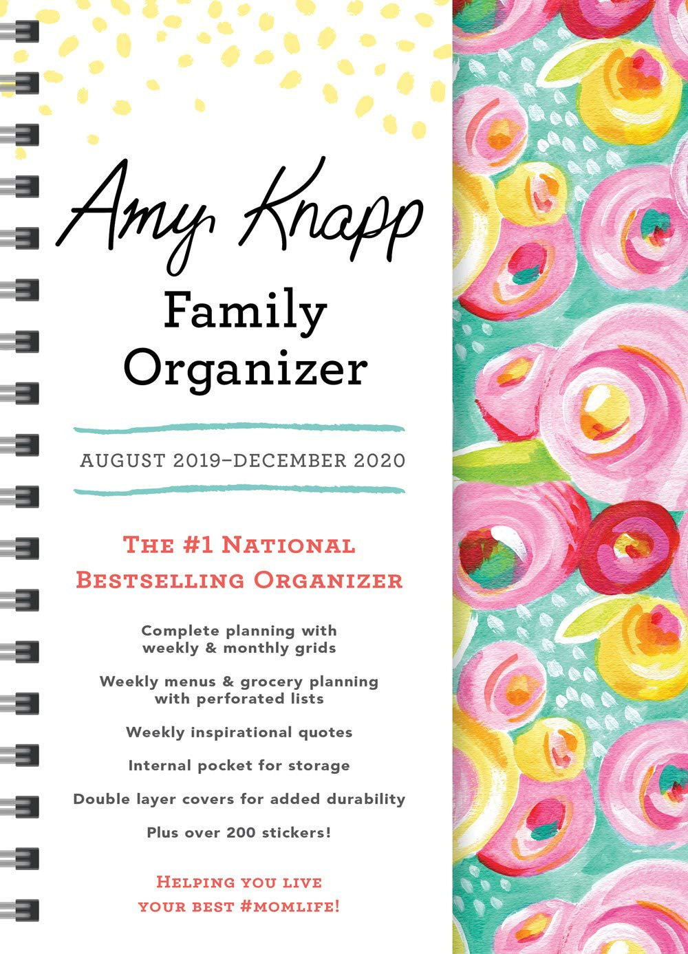 Best Internal Hard Drive 2020 2020 Amy Knapp's Family Organizer: August 2019 December 2020: Amy