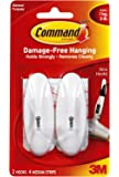 Command Medium Wire Hooks, 2-Hook