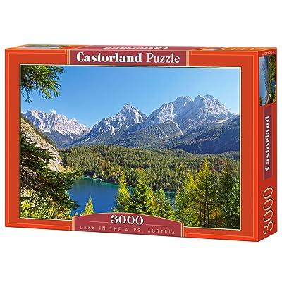 Castorland C-300242-2 - Puzzle - Lac de Montagne en Autrich - 3000 Pièces