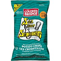 Covered Bridge Sea Salt and Vinegar Pot Chips, 170g