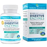 Nordic Naturals Nordic Flora Digestive Enzymes - 45 Capsules - Digestive Function, Optimizes Nutrient Availability - Non-GMO