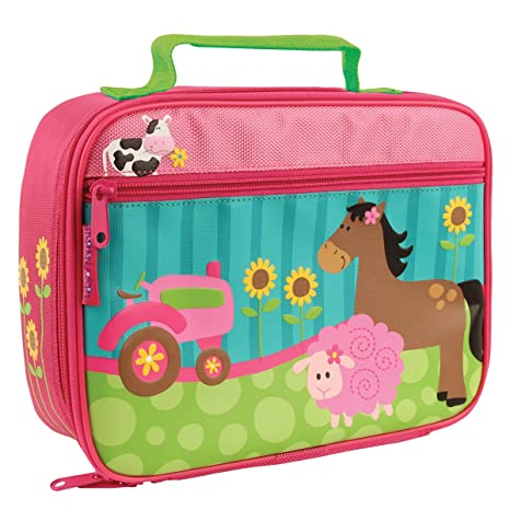 Amazon.com | Stephen Joseph Girl Farm Animals Backpack and Lunch Box with Zipper Pull | Kids Backpacks