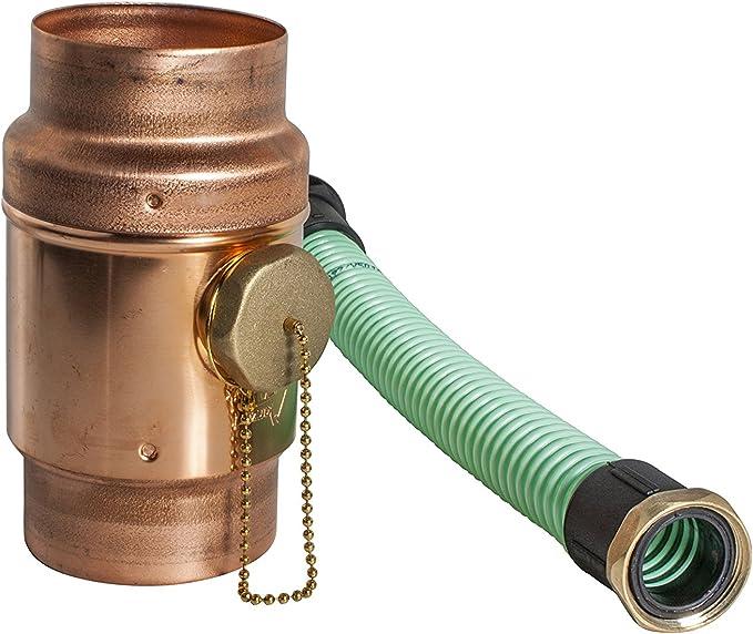 Gr/ö/ße // DN 120mm Wassersammler Piccolo aus Kupfer 5 tlg