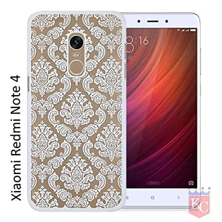 KC Flowing Glitter Stars Transparent Soft Back Cover for Mi Redmi Note 4  Silver  Cases   Covers