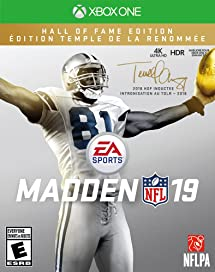 46524bf7d40 Madden NFL 19: Hall of Fame Edition - Xbox One: Electronic Arts