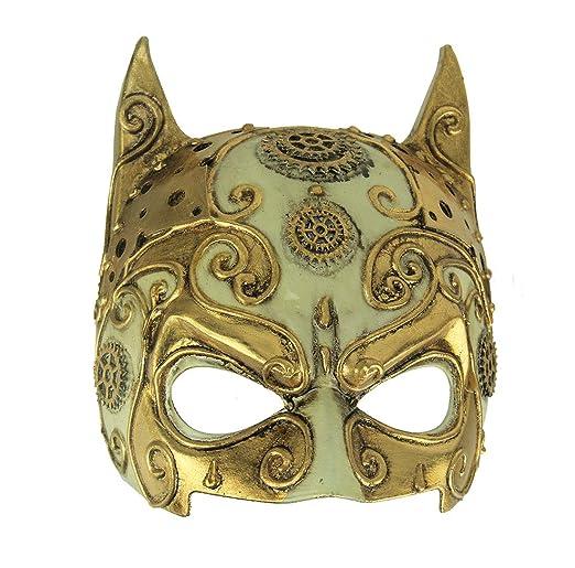 Amazon.com: Things2Die4 - Máscara de diablo para Halloween ...