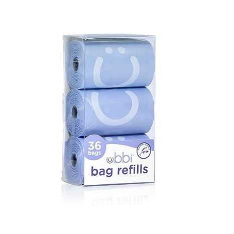 Ubbi On The Go - Recambios para bolsas de desecho, aroma a ...