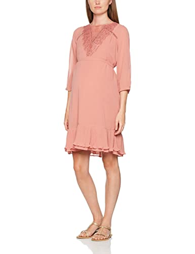 MAMALICIOUS Mlgavia Lace 3/4 Short Dress, Vestido Premamá para Mujer