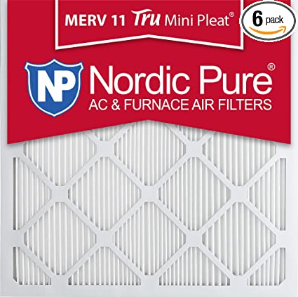 bd2781a3077 Image Unavailable. Image not available for. Color  Nordic Pure 14x14x1 MERV  11 Tru Mini Pleat AC Furnace Air Filters 14-Inch x
