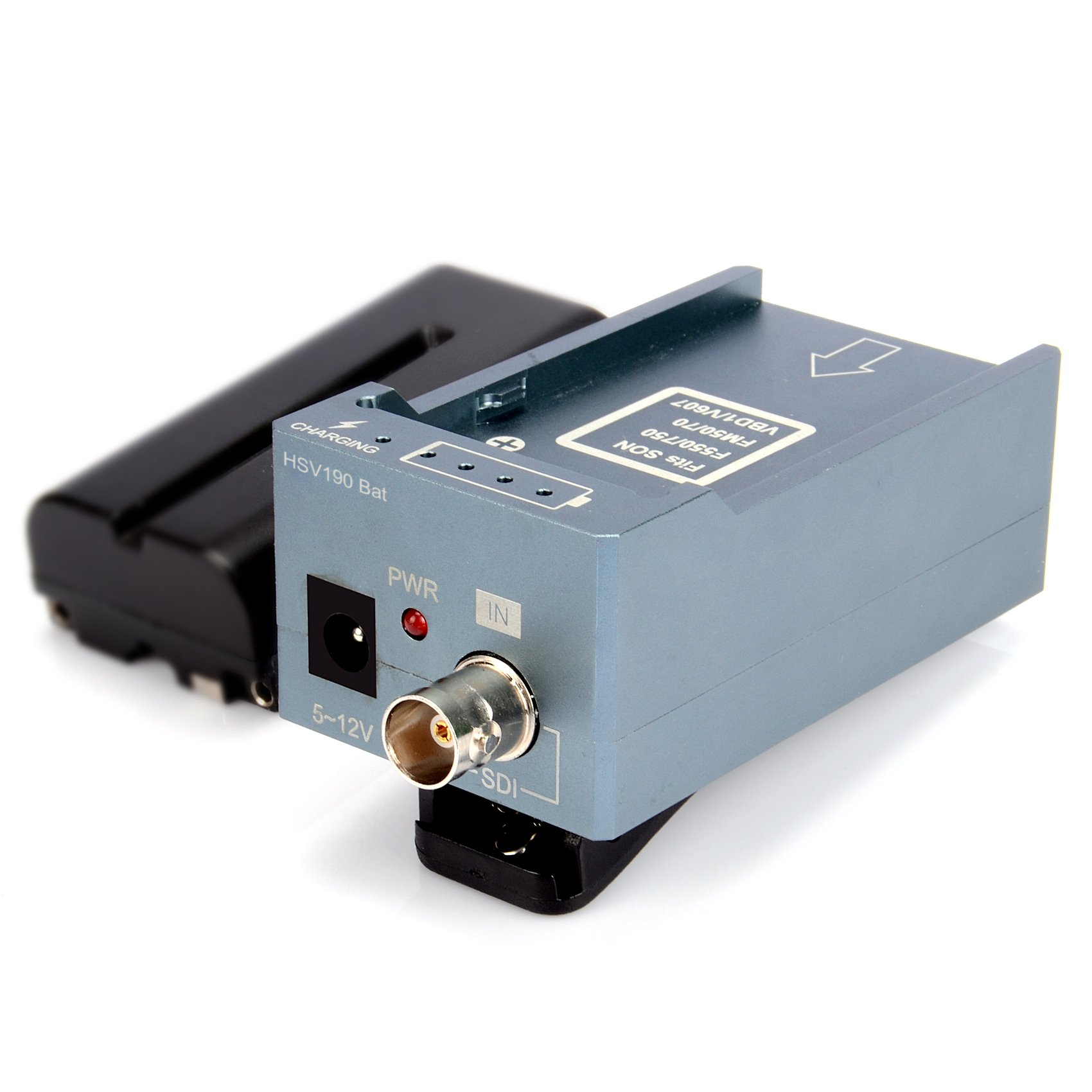 Mirabox Design Battery Converter SDI to HDMI Adapter Convert SD/HD-SDI/3G-SDI Multimedia HD Video Converter Portable Mini Size With Clips(HSV190Bat)