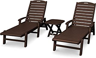 product image for Trex Outdoor Furniture Yacht Club Chaise Set, Vintage Lantern