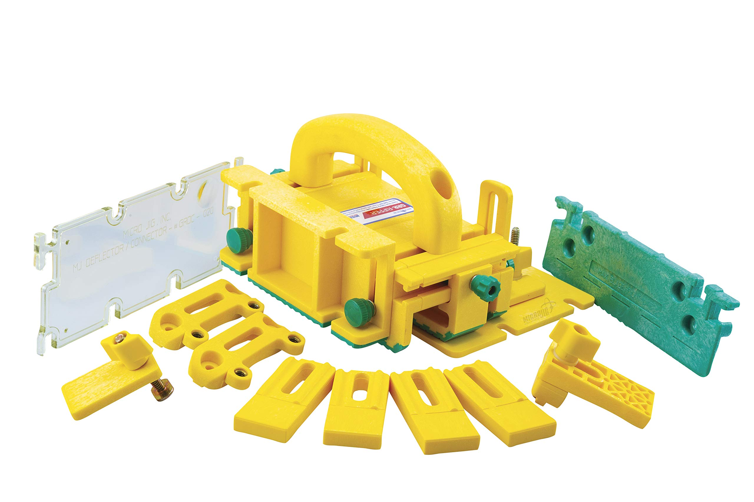 Micro Jig GR-281 Total 3D Single Pack Pushblock System, Yellow by MICRO JIG