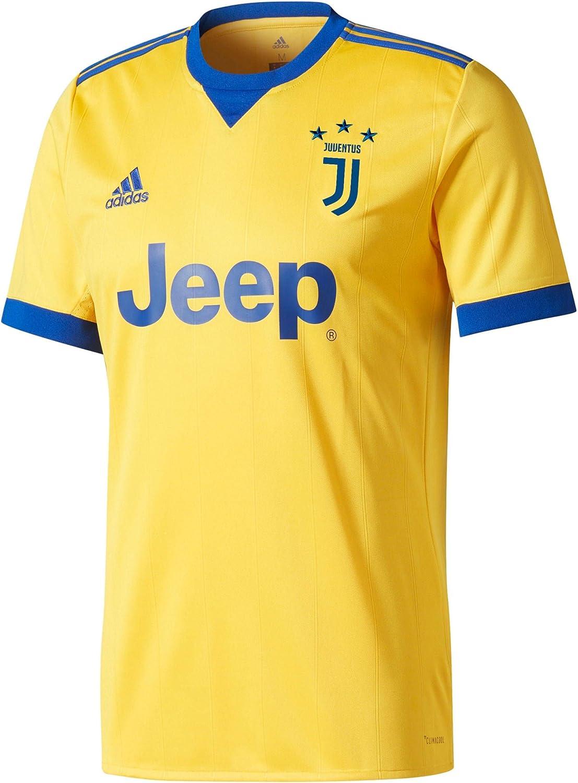 adidas Juve A JSY Camiseta 2ª Equipación Juventus FC 2015/2016, Hombre: Amazon.es: Ropa y accesorios