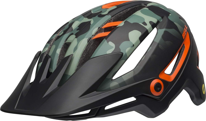 BELL Sixer MIPS MTB Fahrrad Helm schwarz grün Orange 2019