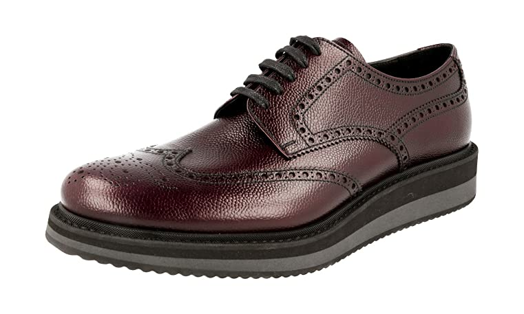 Men's 2EG116 Full Brogue Leather Business Shoes