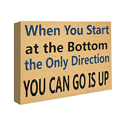 Amazon JennyGems Stand Up Sign Motivational Life Quotes Unique Motivational Life Quotes