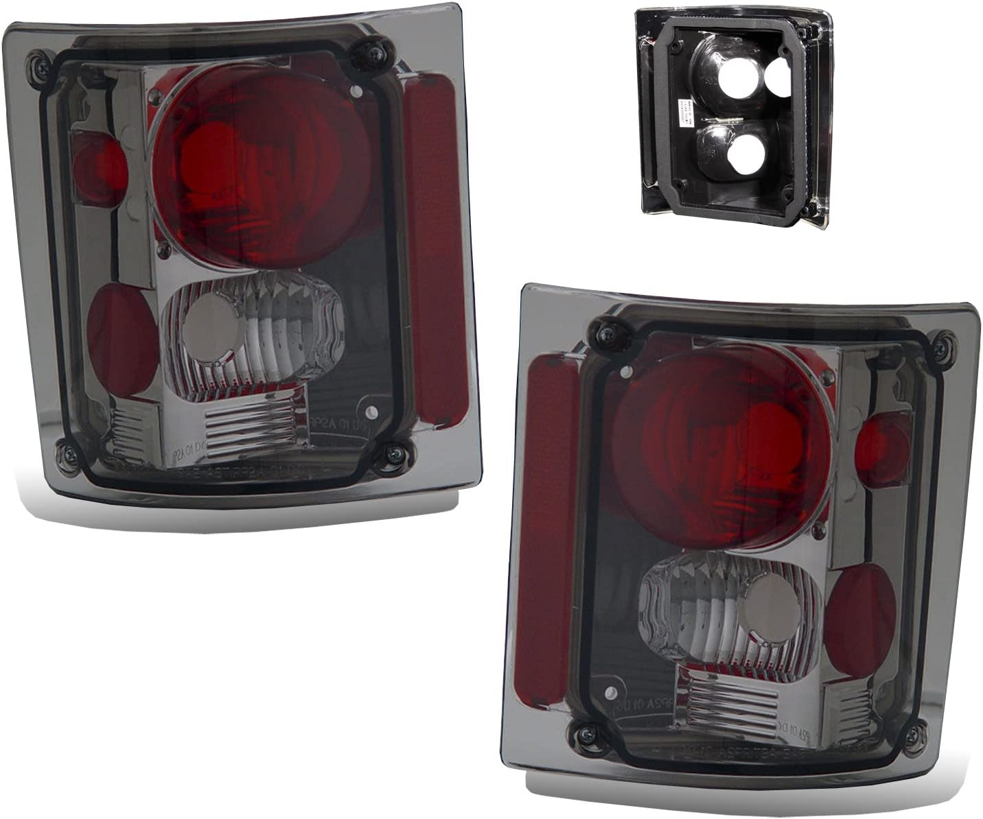 CHEVY FULL SIZE 73-87 TAIL LIGHT SMOKE NEW