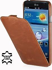 StilGut, UltraSlim, pochette exclusive pour le LG Optimus G Pro E988, en cognac