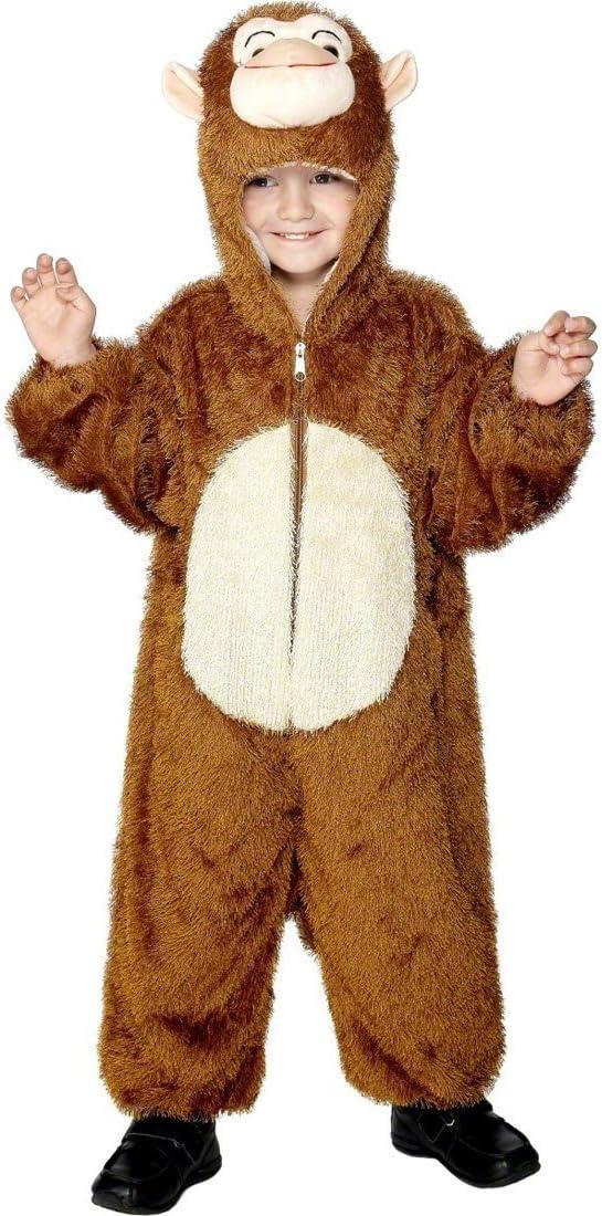 NET TOYS Traje de Mono para niños Disfraz Animal Gorila Vestuario ...