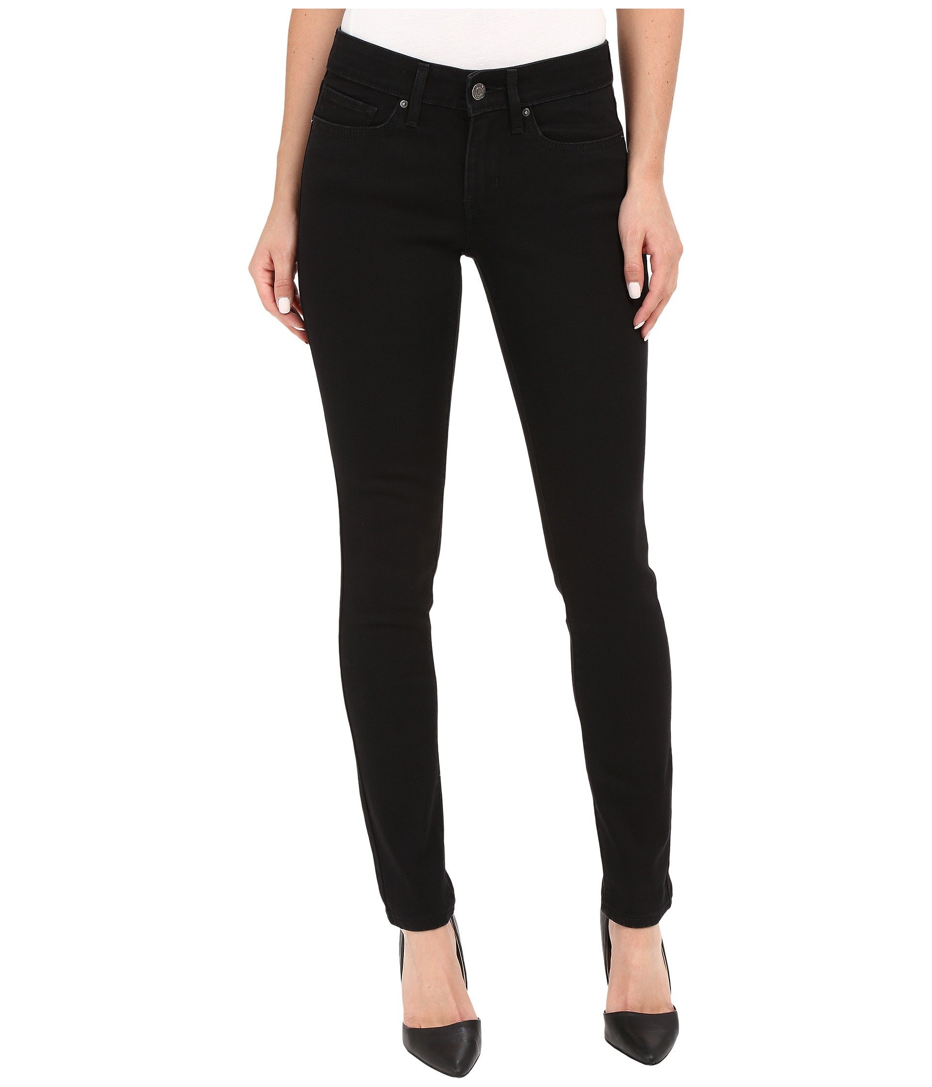 Levi's Women's 711 Skinny Jeans,Soft Black,28Wx30L by Levi's