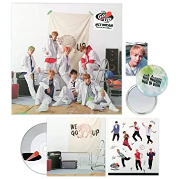 NCT DREAM 2nd Mini Album - [ WE GO UP ] CD + Photobook + Photocard +  Sticker Pack + FREE GIFT / K-pop Sealed
