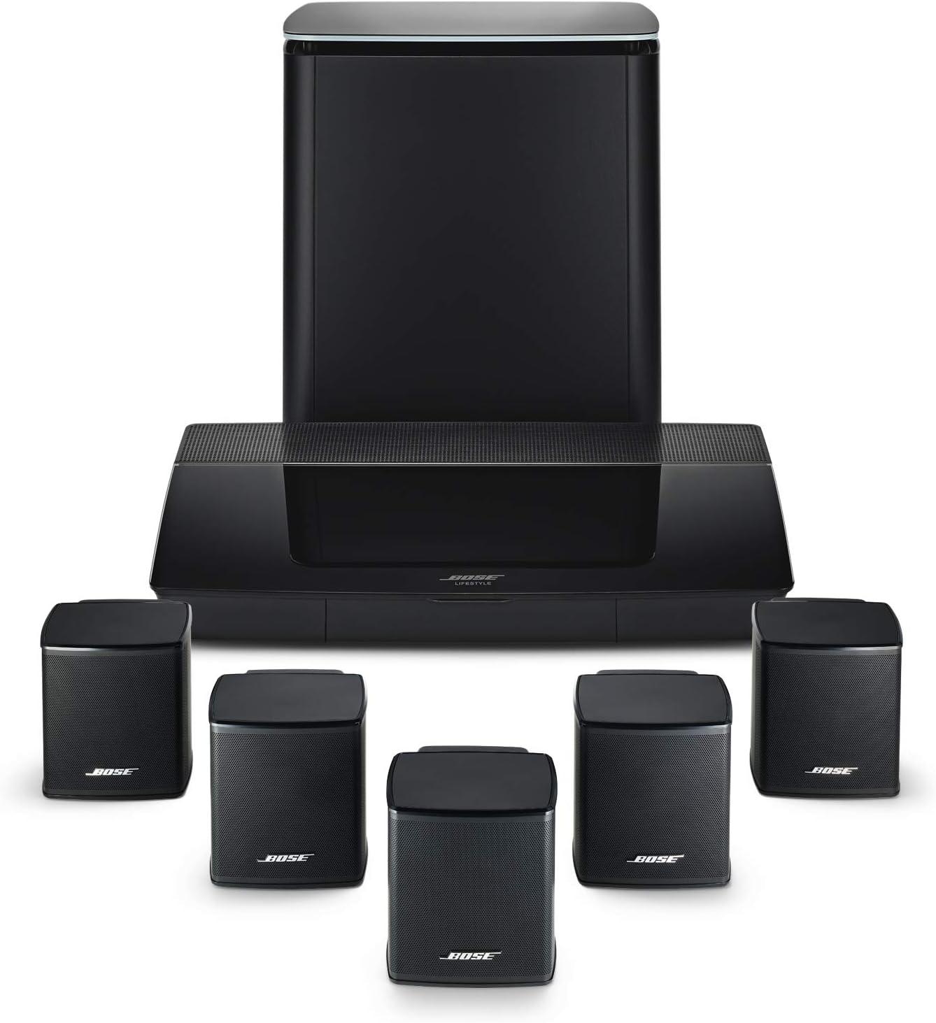 Bose Lifestyle 550 Home Entertainment System Zwart: Amazon.nl
