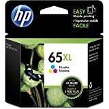 HP 65XL Tri-color High Yield Original Ink Cartridge (N9K03AN)