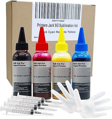 Amazon.com: Impresoras Jack Premium Tinta de Sublimación ...
