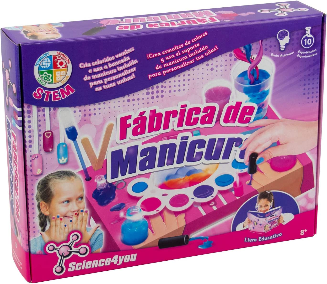 Science4you, Fábrica de Manicura - Juguete Científico y Educativo