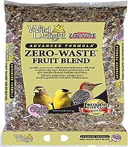 Wild Delight Zero-Waste Fruit Blend Bird Food, 20 Lb