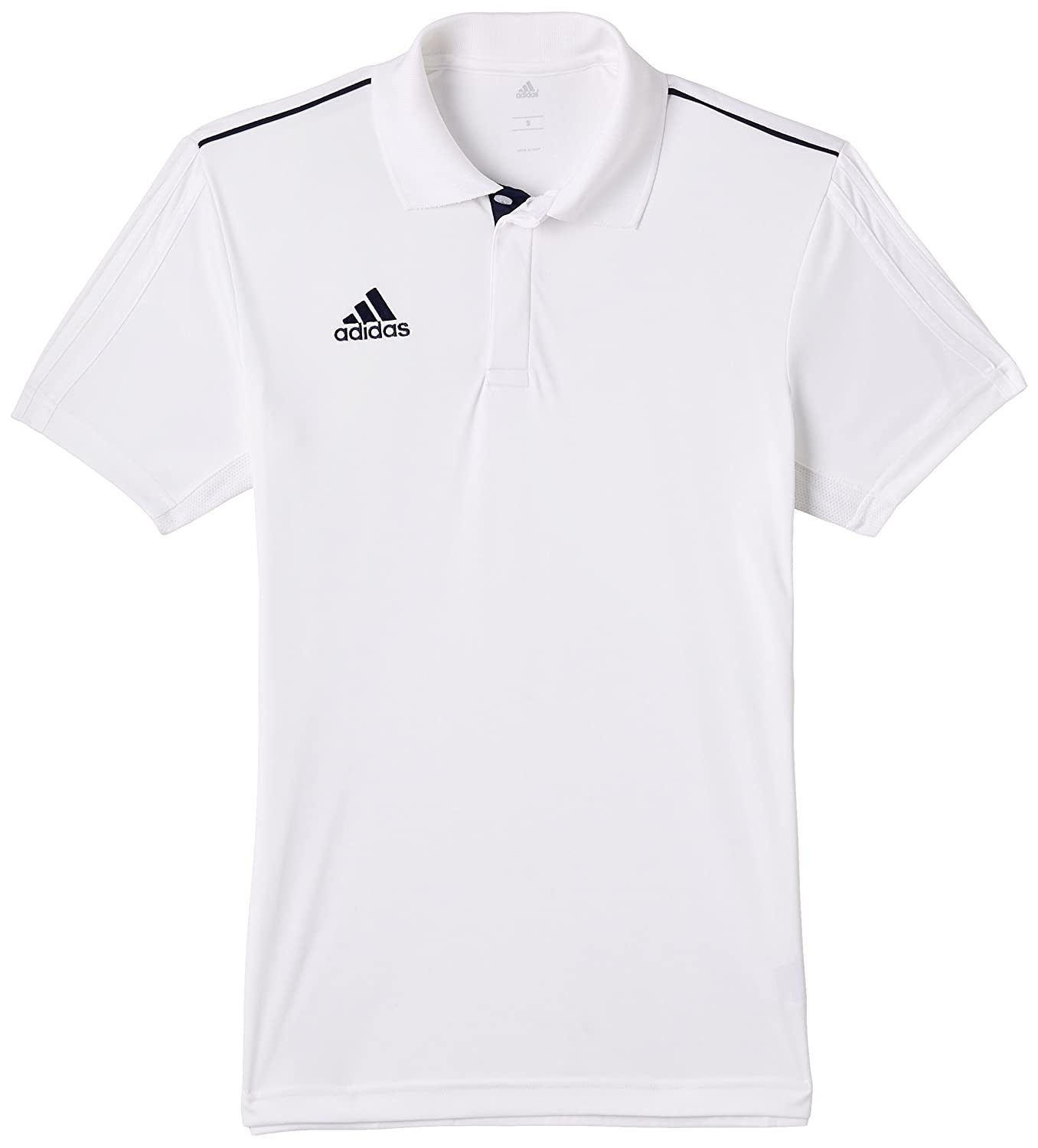 Cricket t shirt white - Buy Adidas Basic Polyester Cricket Polo Men S Xx Large White Online At Low Prices In India Amazon In