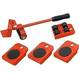 Meister - Transportador de muebles con ruedas, juego de 5piezas, 419900