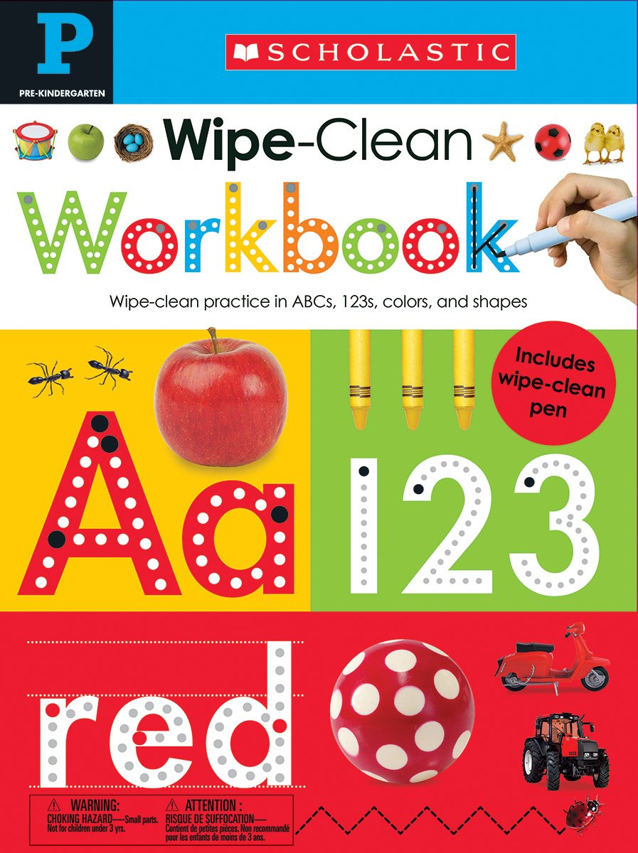 Wipe Clean Workbooks Scholastic Learners