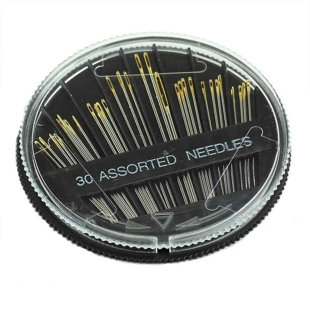 FBlue 30PCS Assorted Hand Sewing Needles Embroidery Mending Craft Quilt Sew Case by F-Blue