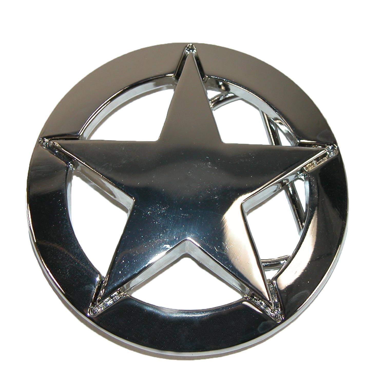 CTM® Deputy Sheriff Star Belt Buckle, Polished RR-1167-SIL