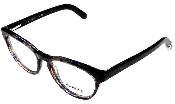 600a0d2cfe Amazon.com  Chanel Prescription Eyeglasses Frame Violet Women CH3237 1392  Oval  Clothing