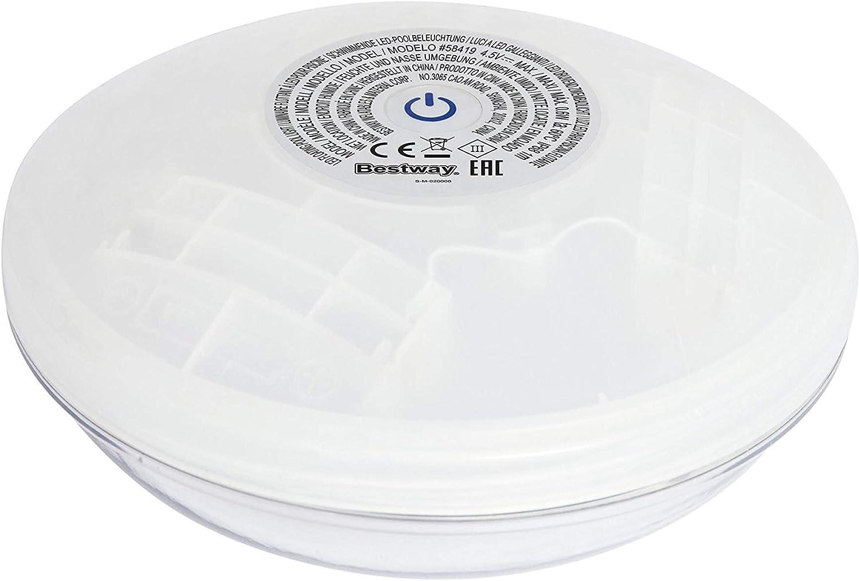 Bestway Flowclear schwimmende LED-Poolleuchte - Produktbild