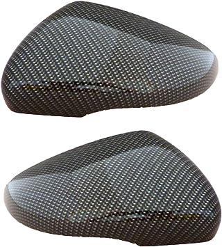 1 Paar Spiegelkappen Golf Vi Mit Wassertransferdruck Carbon Look Spiegel Außenspiegel Auto