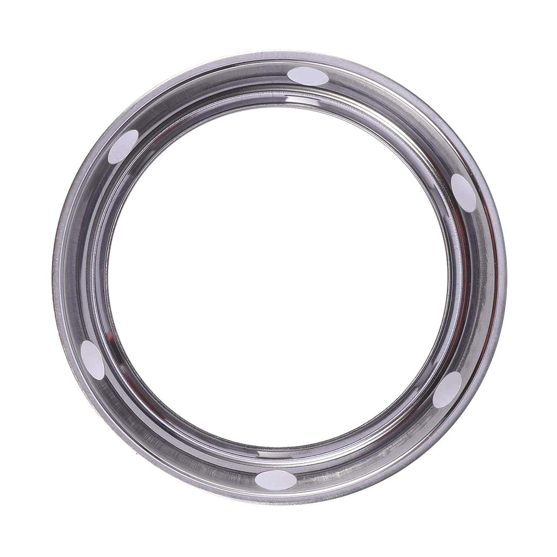 ALONGB Wok Rack K/üchentopfhalter Runder Topf Wok Ring Edelstahl Isolierte Topfmatten Kochgeschirr Ring//Wok Zubeh/ör